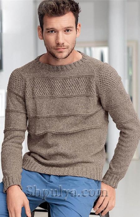 Вязаные мужские пуловеры | Записи в рубрике Вязаные ...