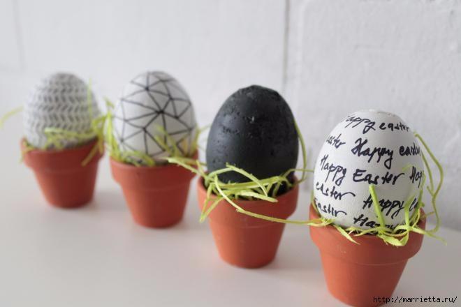 Яйцо из гипса мастер класс + видео #10