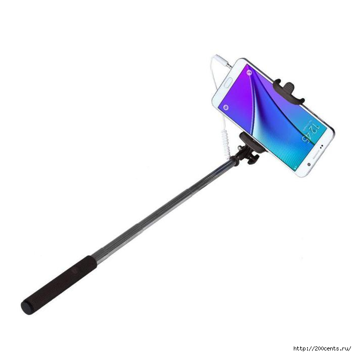 Best seller Extendable Handheld Self-portrait Tripod Monopod Stick For iPhone and other Smartphone selfie stick/5863438_BestsellerExtendableHandheldSelfportraitTripodMonopodStickForiPhoneandotherSmartphoneselfiestick3 (700x700, 47Kb)