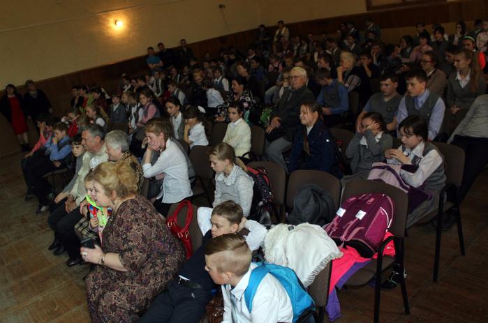 Отчётный концерт учащихся школы. Головчино