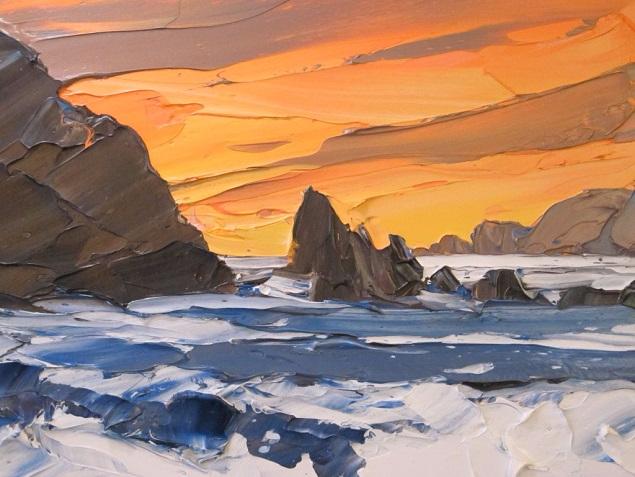 Sunset Porth Dafach (635x477, 300Kb)