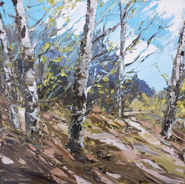 Early Spring Birch (632x631, 595Kb)