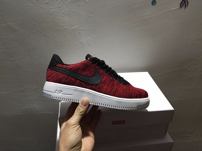 Nike Air Force 1 Flyknit men women Red White_1 (700x525, 219Kb)