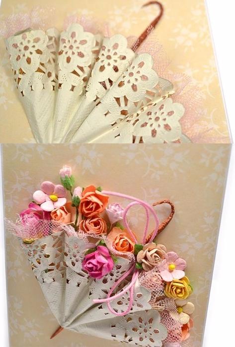 Открытки зонтик с цветами, смешно картинки