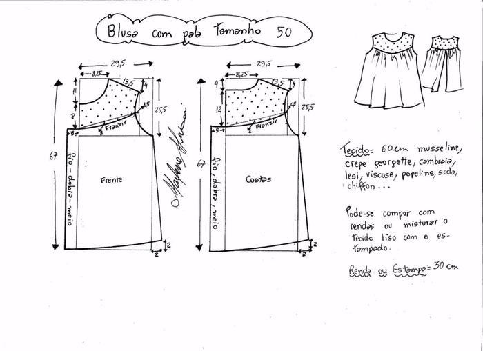 Блузка с кружевной открытой спинкой (8) (700x509, 144Kb)