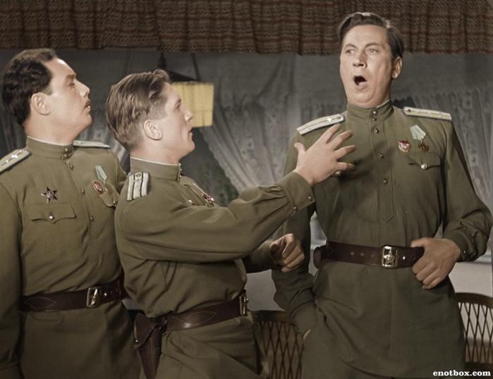 Кадр из фильма «Небесный тихоход», СССР, 1945 год
