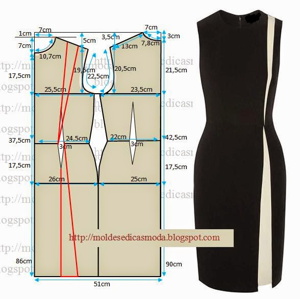 cc30ae476e7 Элегантные и простые летние платья - выкройки.. Обсуждение на LiveInternet  - Российский Сервис Онлайн-Дневников