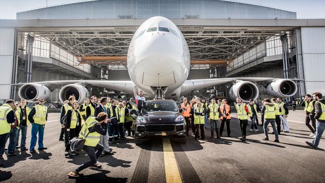 Porsche Cayenne установил новый рекорд