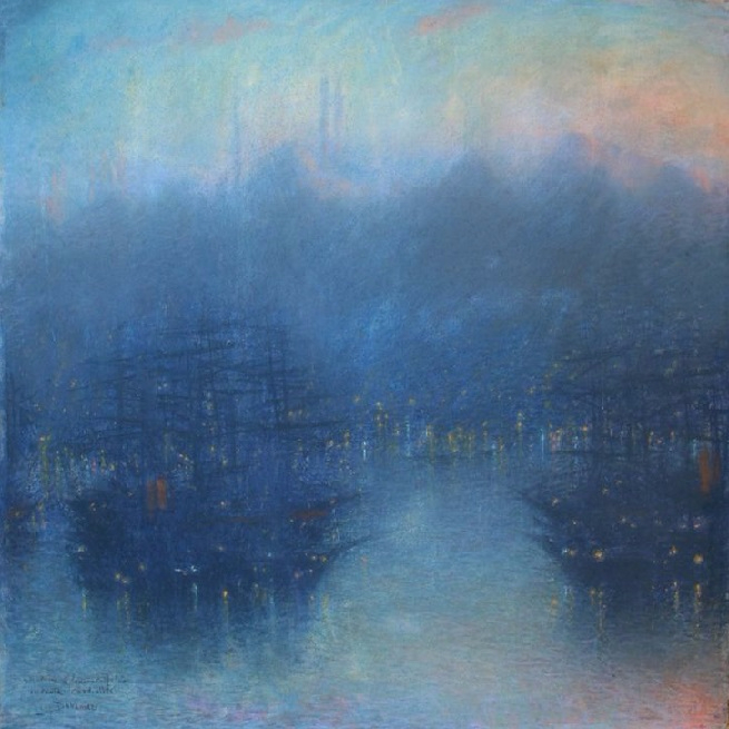 Constantinople (The Harbour, Evening). 1900 -10 (655x655, 328Kb)