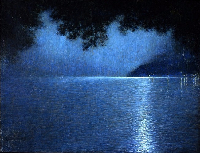 The Lake and the Night, 1910 (651x499, 348Kb)