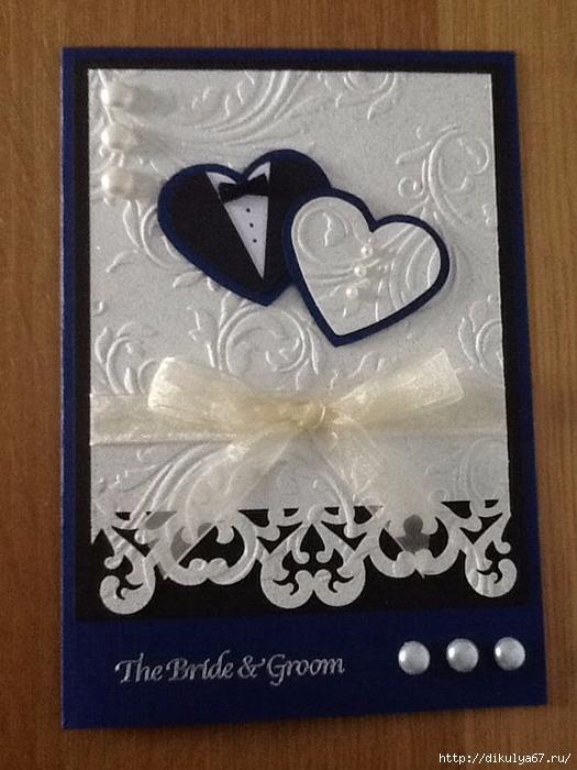 Как сделать открытку на юбилей свадьбы своими руками