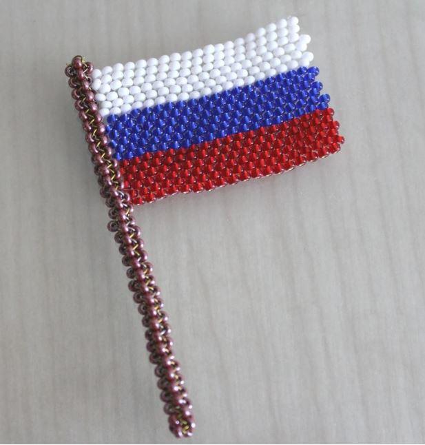 большого поделки к дню россии вязанные складских