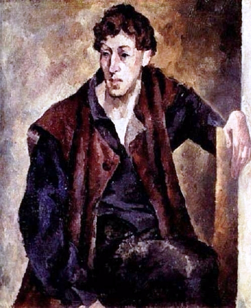4 Портрет поэта. 1923 (495x607, 329Kb)