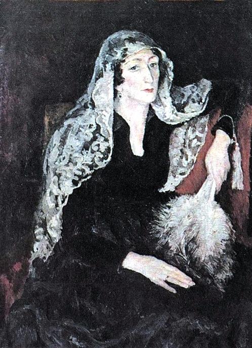 6 Портрет Е.Т. Барковой. 1925 (498x689, 395Kb)