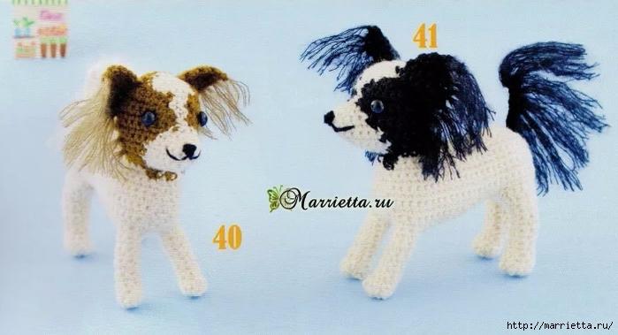 игрушки крючком схемы вязания собачек амигуруми обсуждение на