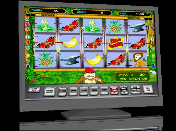 Эмулятор игрового автомата crazy monkey
