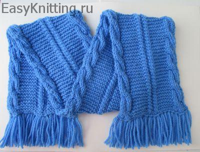 Схема вязания шарфа для детей фото 620