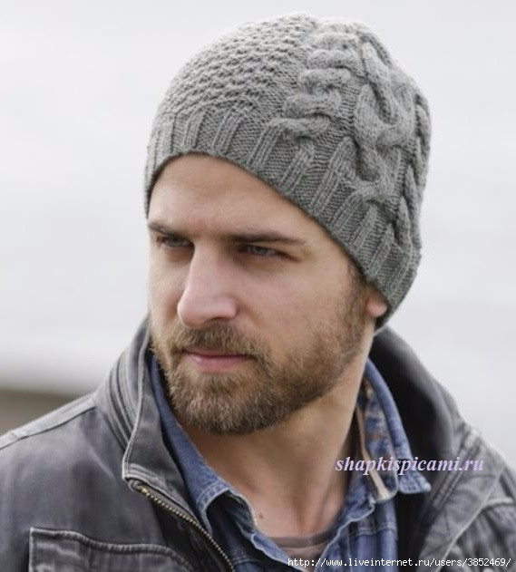 мужская шапка с аранским узором обсуждение на Liveinternet