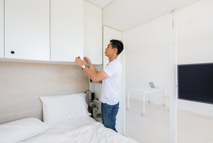 138244502 111117 0901 XXI38 Интерьер квартиры площадью 24 квадратных метра в Сиднее