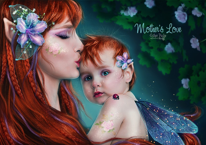 mother_s_love__by_estherpuche_art-db8017y (700x493, 438Kb)