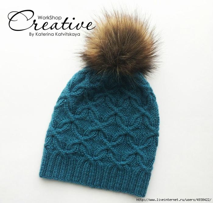 как хорошо уметь вязать шапка с аранами спицами вязание со