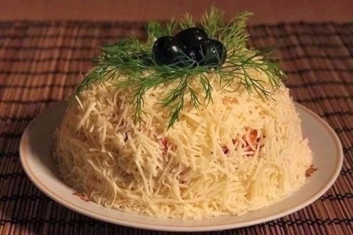 Топ 10 самых удачных и вкусных салатов на Новый год!