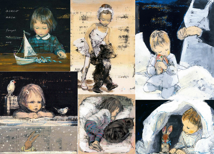 Японская художница Комако Сакаи: краски— в сказки