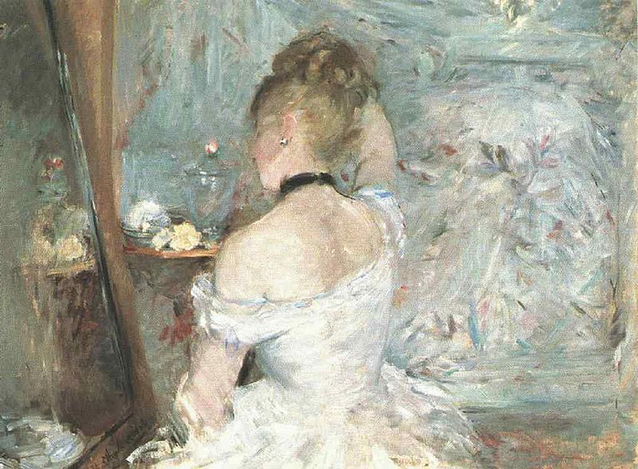 800px-Morisot_Lady_at_her_Toilette (700x514, 419Kb)