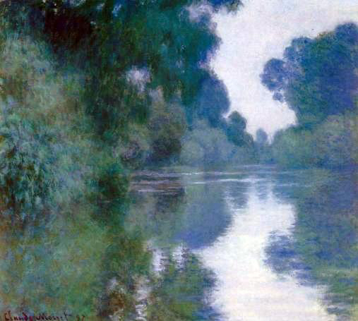 Claude_Monet_-_Branch_of_the_Seine_near_Giverny (507x455, 178Kb)