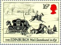 YtGB 1139   Edinburgh Mail Snowbound. 1831 (215x159, 24Kb)