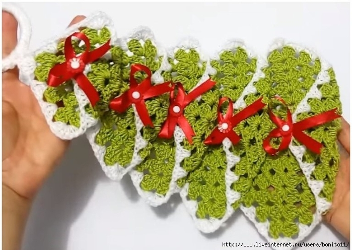 "Crochet-Christmas-Tree-Ornament - О'ОЅП""ОЇОіПЃО±П†Ої (2) (700x496, 245Kb)"