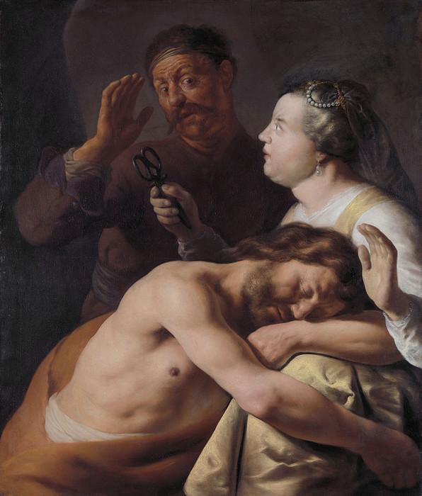 5 Самсон и Далила, ок. 1630-16350 (596x700, 107Kb)