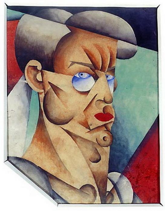 1920-1921 Автопортрет. (546x700, 111Kb)