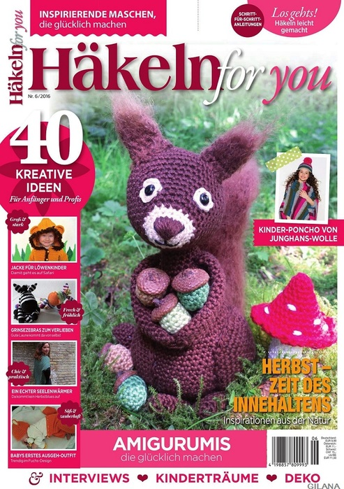 Häkeln for you 6/2016.