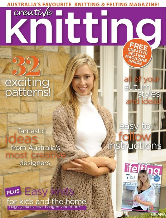 Australia's Creative Knitting №60 2018.