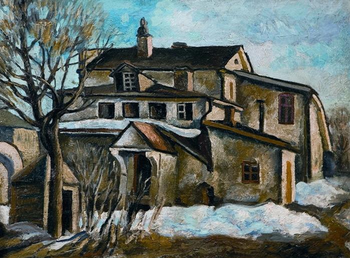 1910-е Дом. Х, м. 52,5х70 см. (Собр. галереи 'На Ленивке') (700x515, 171Kb)
