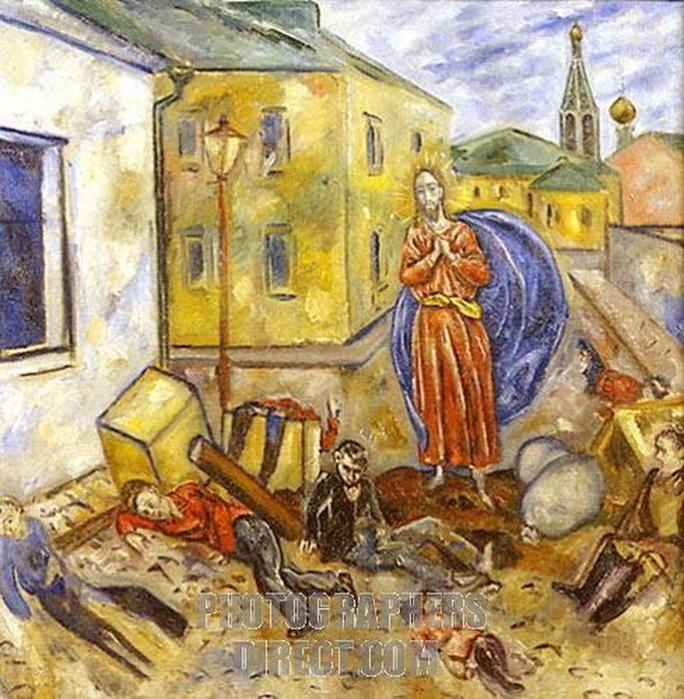 1918-1919 Баррикада. (Нижегородский ХМ) (684x700, 189Kb)