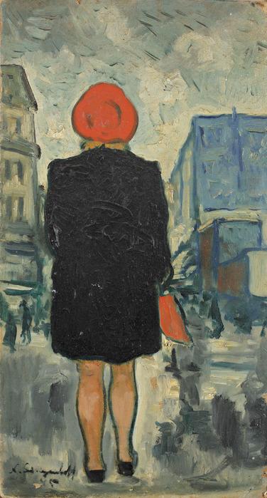 1939 Вид на женщину сзади (Woman from the back) (376x700, 115Kb)