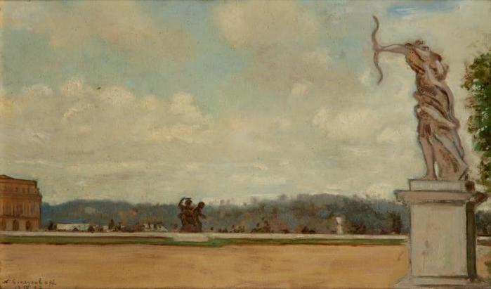 1937 Версаль. К, м. 25 x 42,5 см. ЧС (700x411, 28Kb)