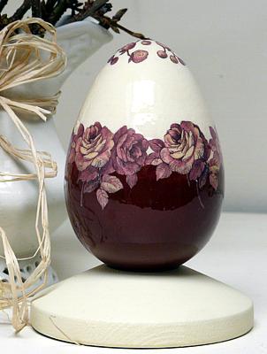 Декупаж. Элегантное пасхальное яичко (22) (302x400, 190Kb)