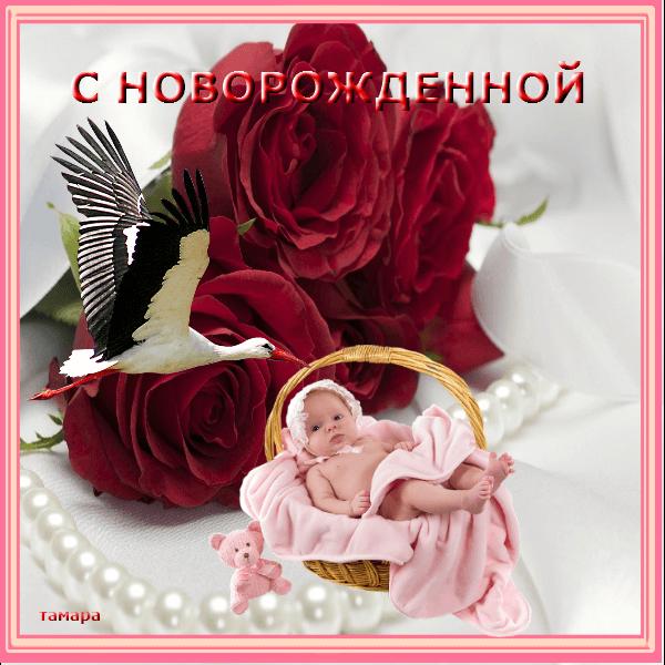 Флеш, картинки принимаю поздравления у меня родилась внучка