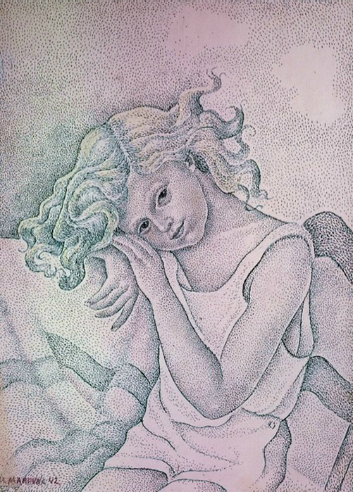 Портрет девочки.. (501x700, 401Kb)