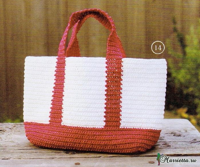 32d69292cadb Схемы вязания крючком хозяйственной или пляжной сумки (2) (700x581, 558Kb)