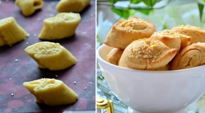 Сырное печенье   вкуснейшая закуска к пиву из плавленых сырков и еще пары ингредиентов