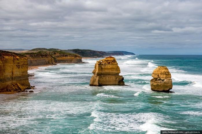 Скалы «Двенадцать апостолов»: исчезающая достопримечательность Австралии