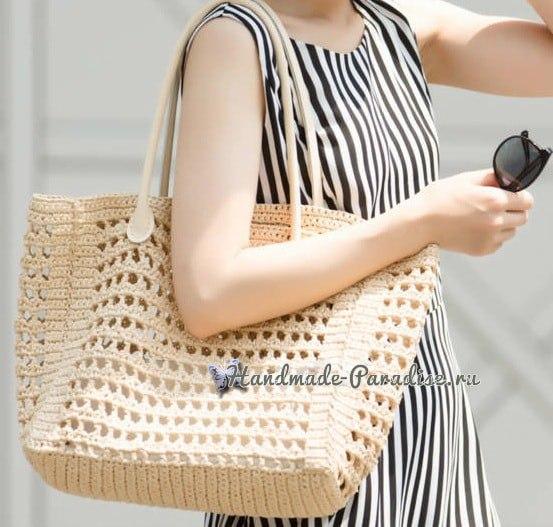 879c1149b191 летняя сумка крючком - Самое интересное в блогах