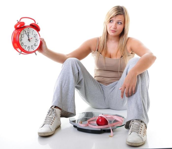 Правильная скорость похудения