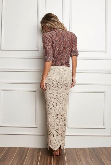 Красивые модели летних юбок вязаных крючком. Обсуждение на ...