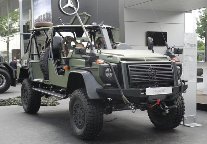 Военные пересядут на «Гелик» без стекол и дверей