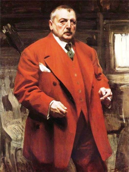 4 Андерс Леонард Цорн (1860-1920).Автопортрет. (527x700, 379Kb)